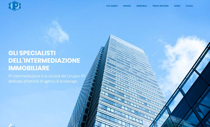 IPI Intermediazione website