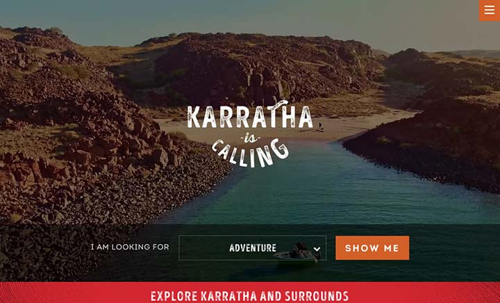 Karratha is Calling website