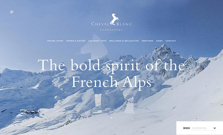 Cheval Blanc website