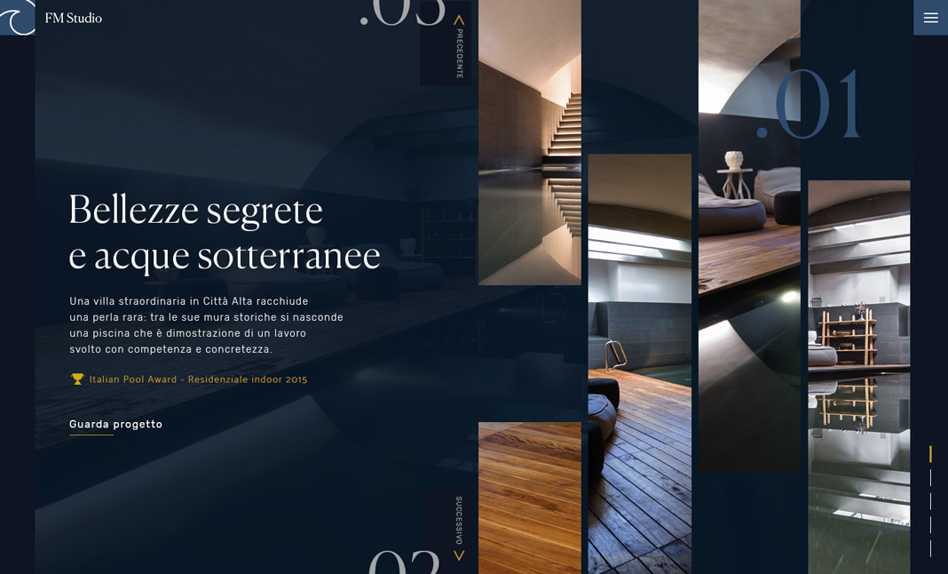 FM Studio Piscine website