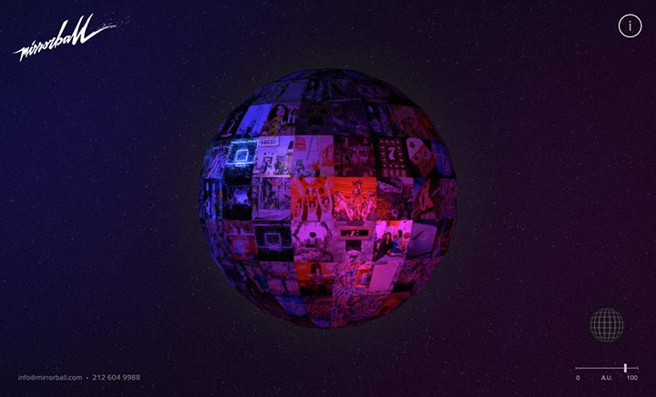 Mirrorball website