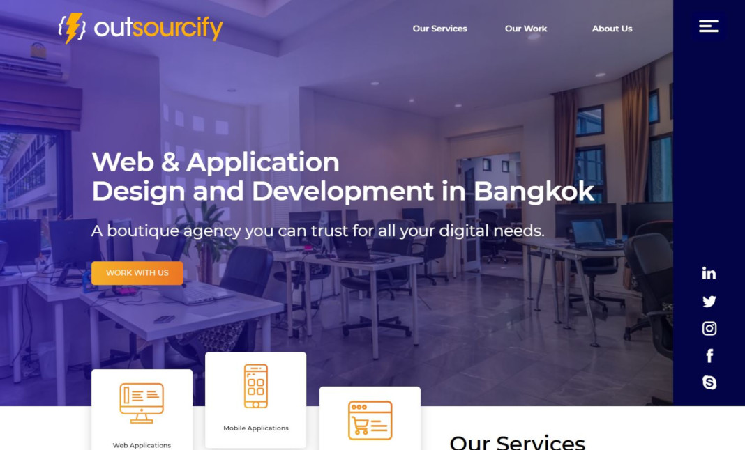 Outsourcify website