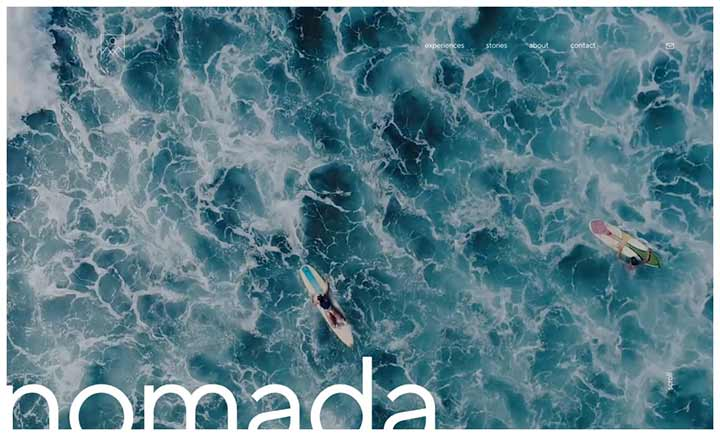 Nomada website