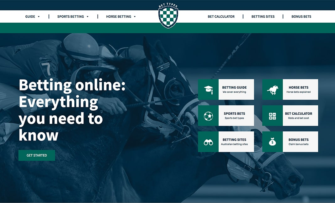 Bet Types website