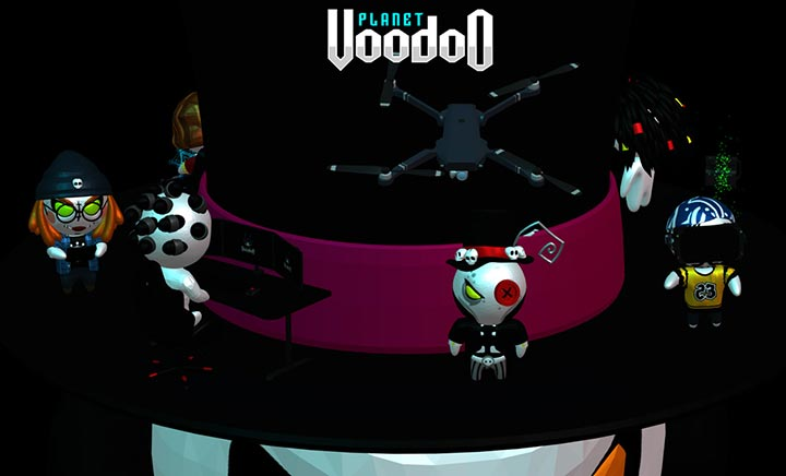 Planet Voodoo website