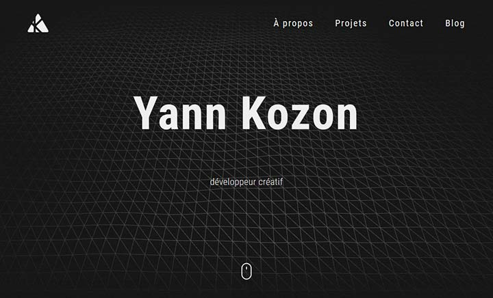 Yann Kozon – Portfolio website