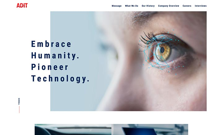 ADIT Cooperate Website website