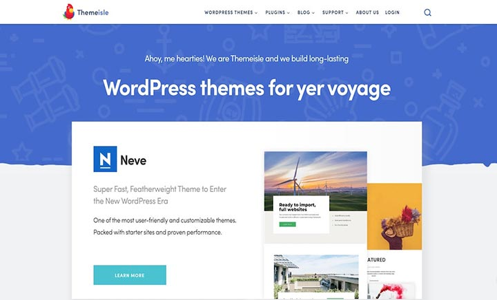 Premium WordPress Themes website
