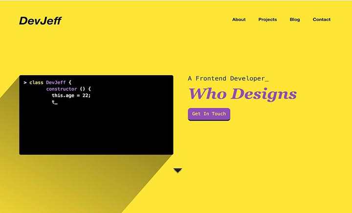 Scroll Sites - A Gallery of Sites Designed For Scrolling via
