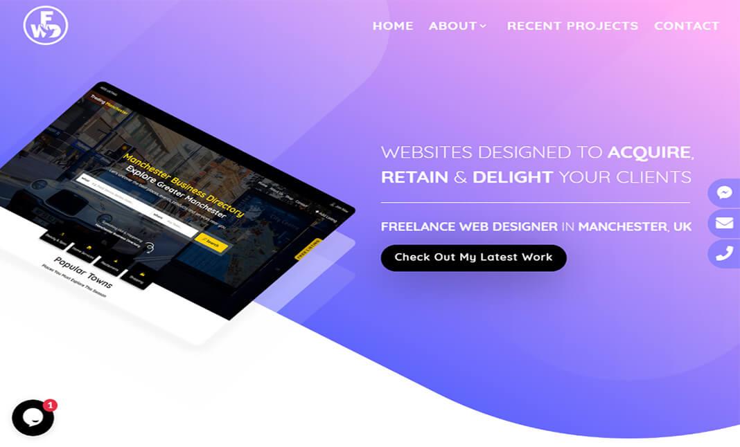 Freelance Web Designer Css Design Awards