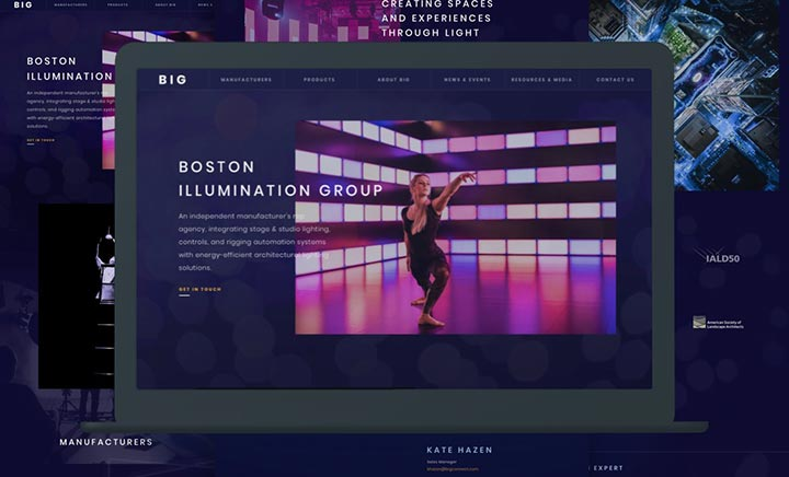 Boston Illumination Group website