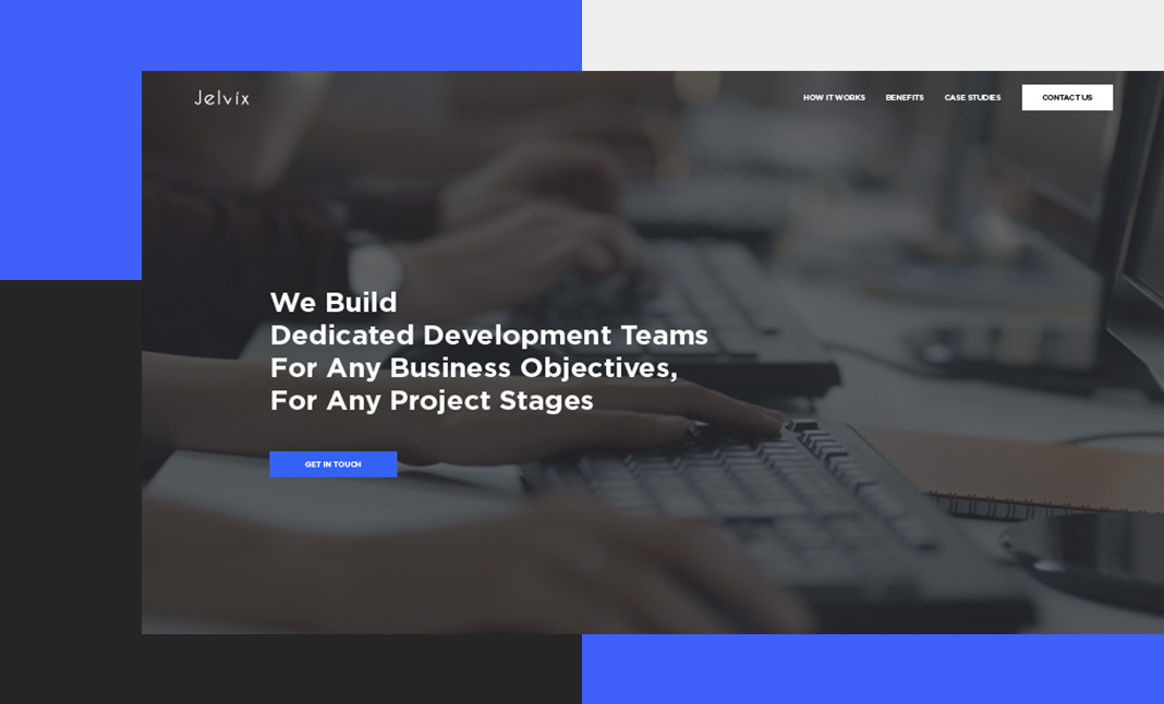 Dedicated Development Teams website