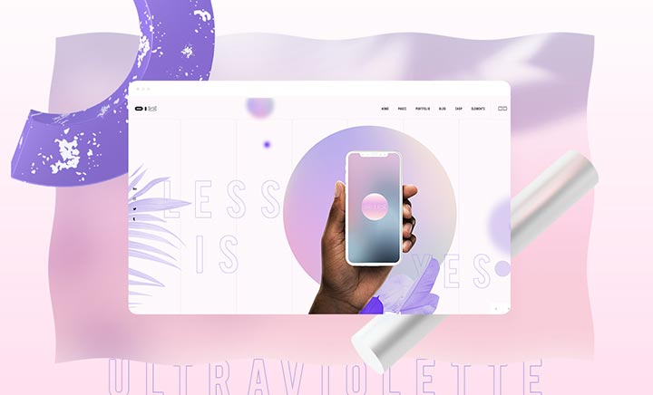 UltraViolette – Design Portfolio website