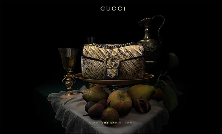 Gucci Marmont website