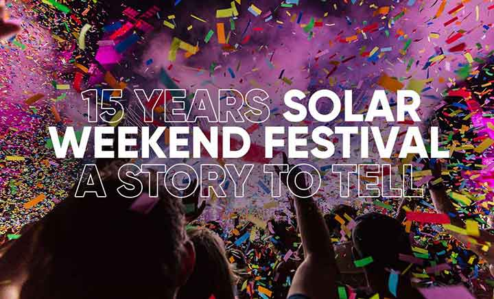 Solar Weekend Festival website