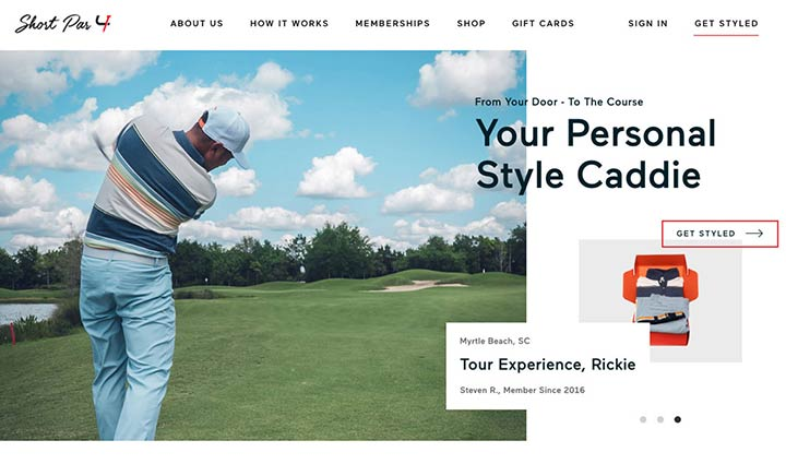 Short Par 4  website