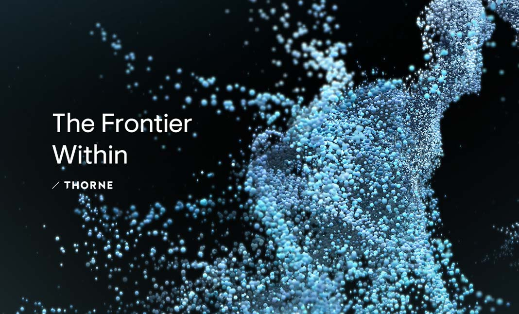 The Frontier Within website