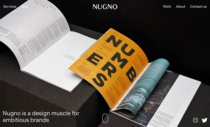 Nugno website