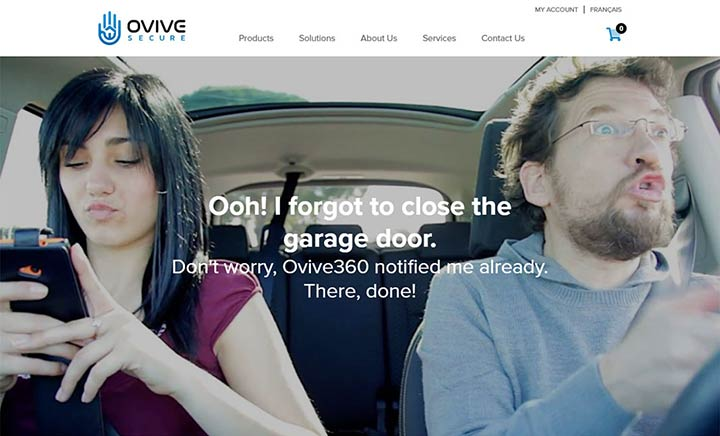 Ovive Secure website