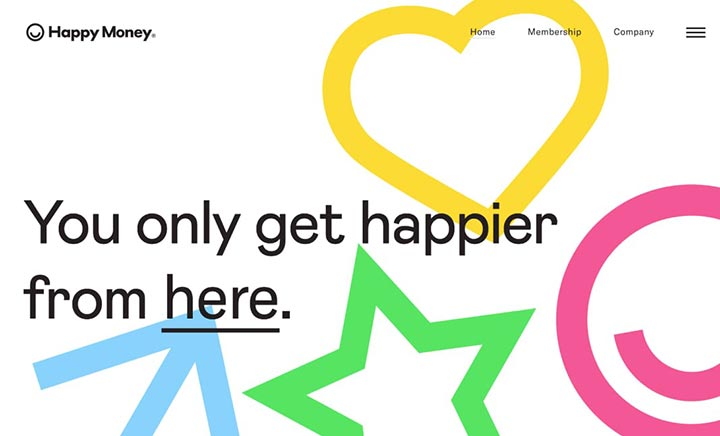 Happy Money website