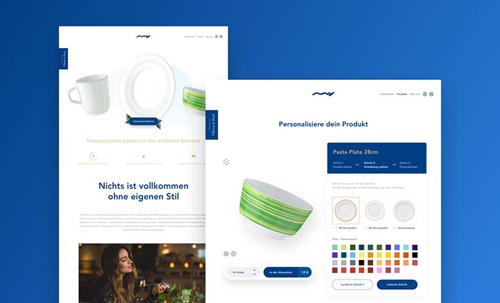 myTableware – by Villeroy&Boch website