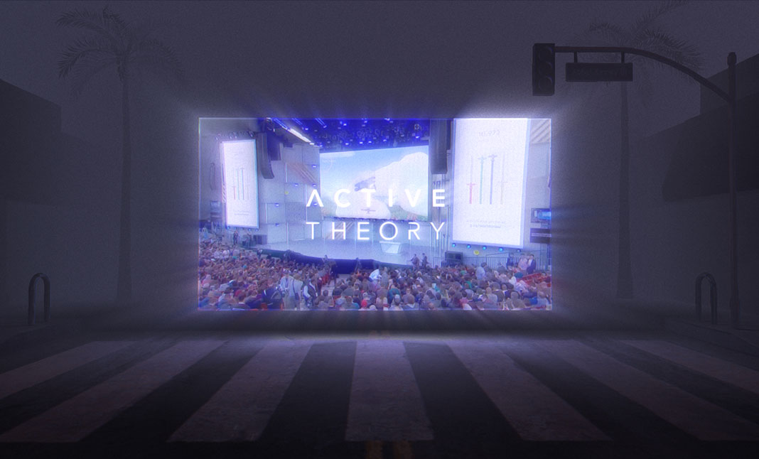 Active Theory v5 website