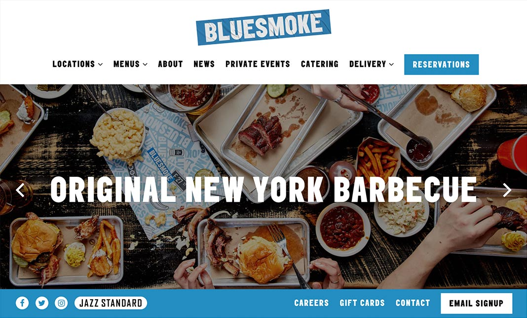BlueSmoke website
