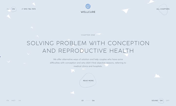 Reproductive / Wellcure website