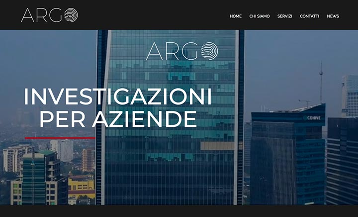 Investigative Agency Milan website