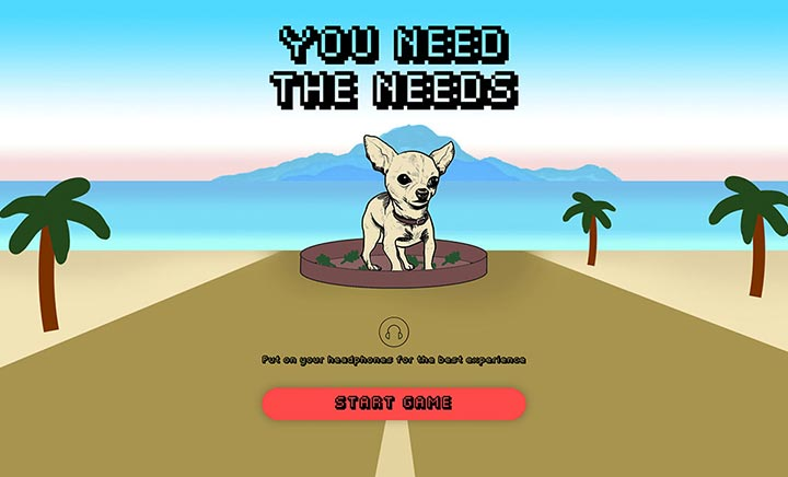 You Need The Needs website