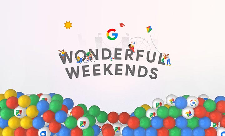 Wonderful Weekends website