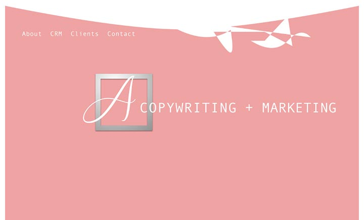 A Plus Copywriting + Marketing website