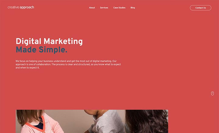 Creative Approach website