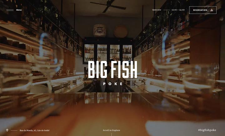 Big Fish Poke website