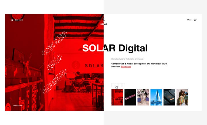 Solar Digital website