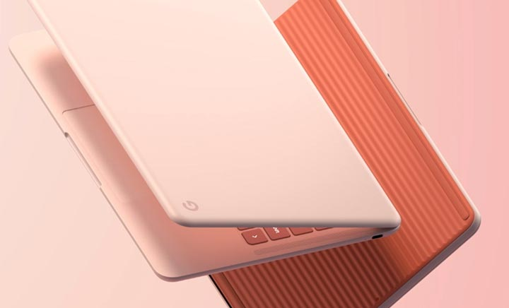 Google Pixelbook Go website