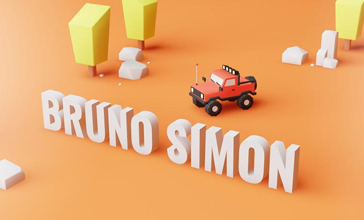 Bruno Simon - Portfolio website