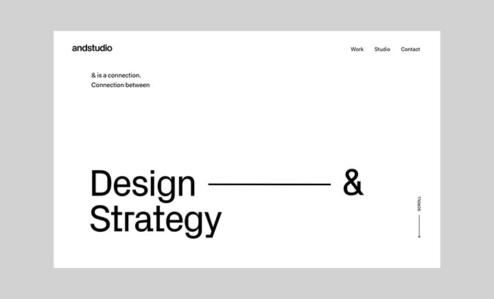 andstudio website