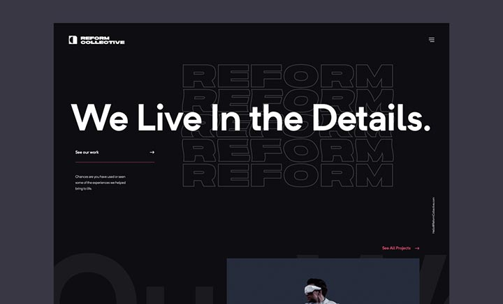 Reform Collective website