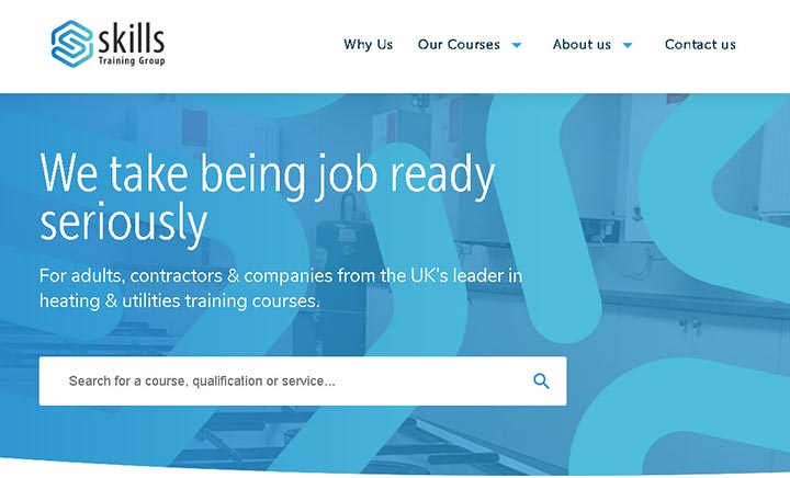 Skills Training Group website
