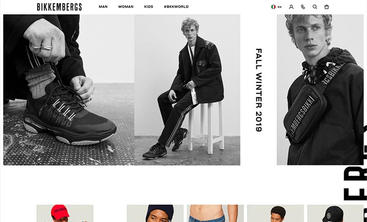 Bikkembergs website