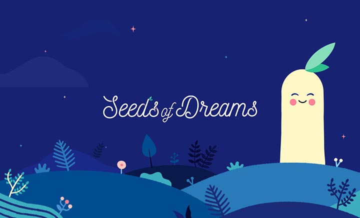 L'Occitane: Seeds of dreams website