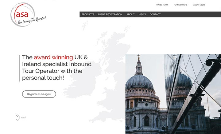 Angela Shanley Associates website