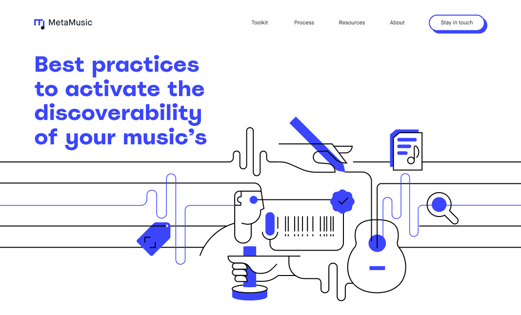 MetaMusic website