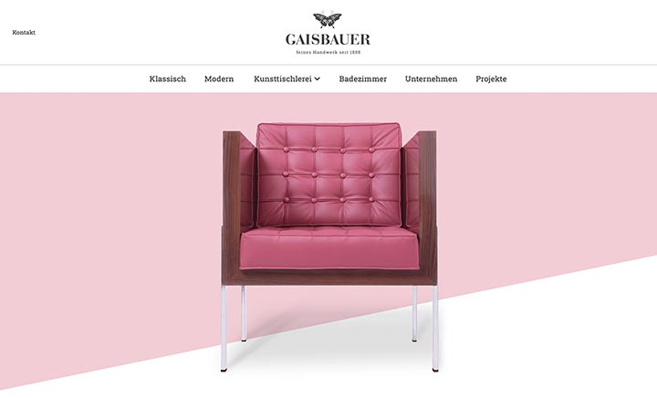 Gaisbauer website