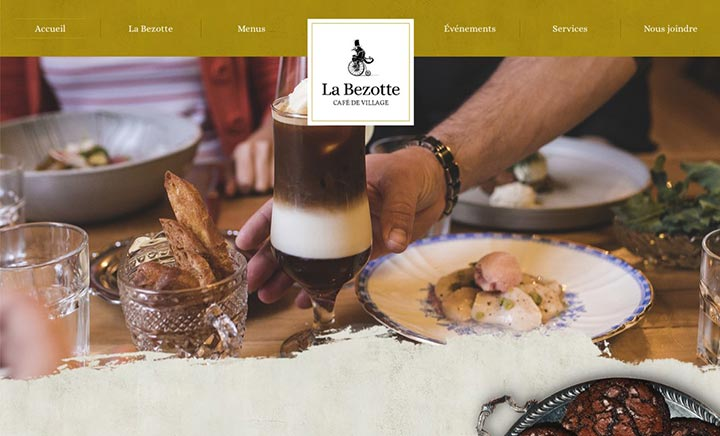La Bezotte - Café de Village website