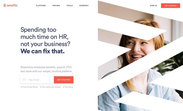 Zenefits: #1 HR Software website