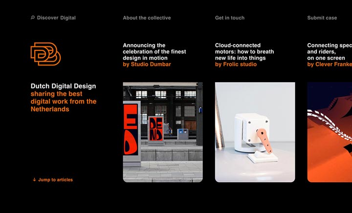 Dutch Digital Design website