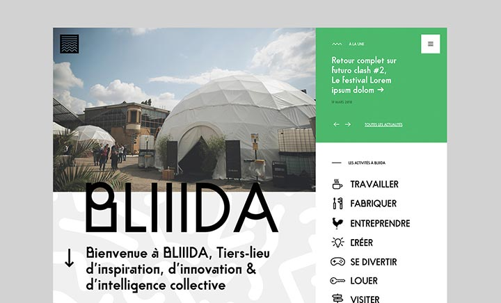 BLIIIDA website