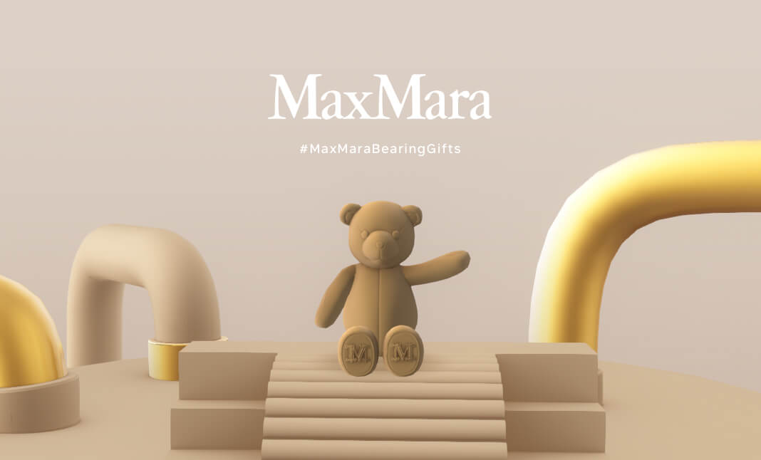 MaxMara Bearing Gifts website